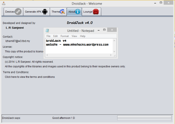 How To Hack Android Smartphones Remotely using DroidJack To